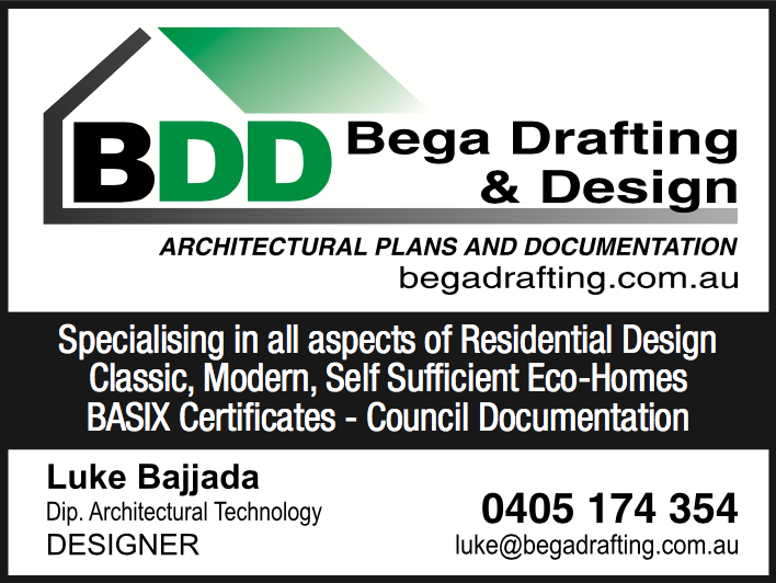 Bajjada Drafting & Design, Bega - Luke Bajjada